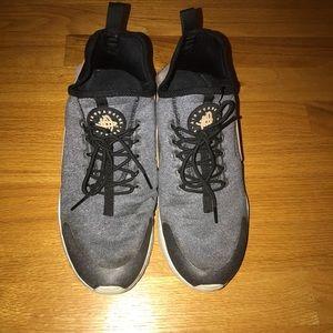 Grey and Nude Nike Huarache